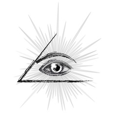 Eye of providence sketch