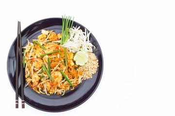 Thai food Pad thai , Thai style noodles.