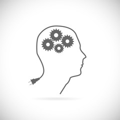 Brain Idea Illustration