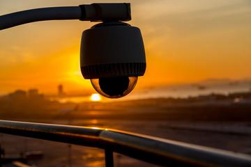 CCTV Silhouette