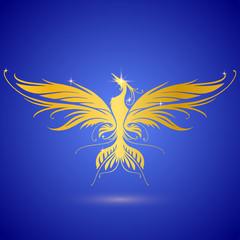 Gold phoenix