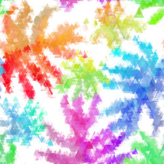 Seamless organic watercolor background soft coloured pattern in