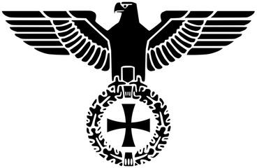 Deutscher Reichsadler mit Tatzenkreuz