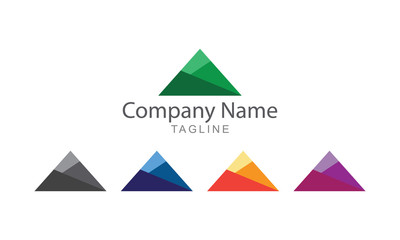 Single Mountain Logo Business Concept