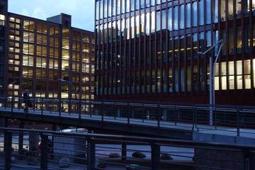 Gebäude Außenfassaden / Bürogebäude
