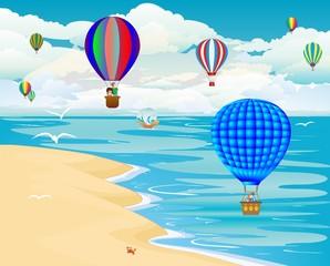 podróż balonami,