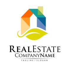 Real Estate Property Vector Logo Design