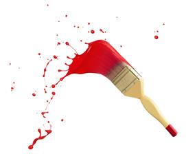 Fototapete - paint splash