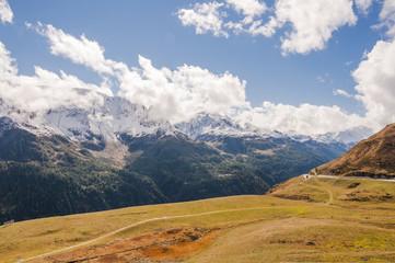 Airolo, Stadt, Tremola, Passstrasse, Gotthard, Bedretto, Bedrettotal, Val Bedretto, Sankt Gotthard, Herbst, Tessin, Schweiz