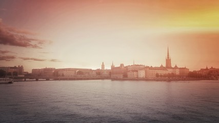 Stockholm Evening Light