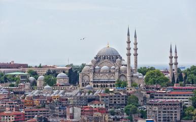 Aluminium Prints Turkey Suleymaniye Mosque, Istanbul, Turkey