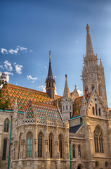 Roman Catholic Matthias Church in Budapest, Hungary