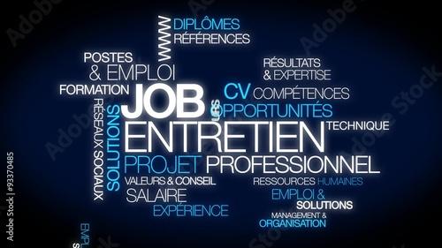 u0026quot job emploi entretien projet professionnel carri u00e8re cv