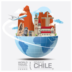 Chile Landmark Global Travel And Journey Infographic