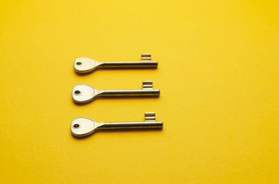 Simple key door