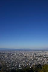 藻岩山展望台から見た札幌市街Sapporo City, view from Moiwayama Observatory