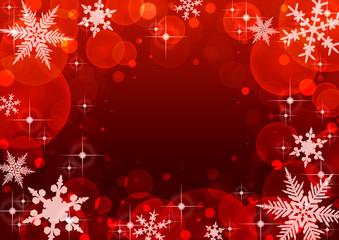 クリスマス 背景 赤