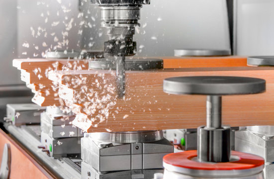 Wood Cutting with a cnc milling machines
