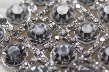 Decorations dress, rhinestones, diamonds shine brightly in the s