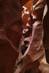 Slot canyon rock texture