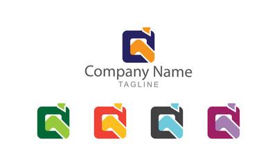 Logo Property Vector Business Concept