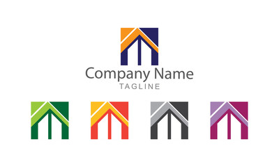 Property Icons Logo Vector Business Concept