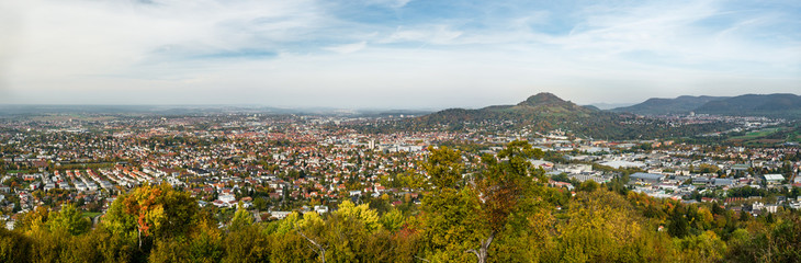Panorama Reutlingen mit Achalm
