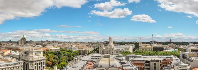 Madrid centro visto desde una azotea, de Madrid al cielo, España, Europa