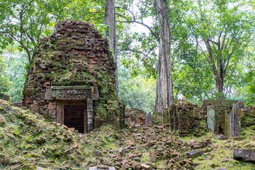 Koh Ker Temple, Siem Reap Cambodia Sep 2015.
