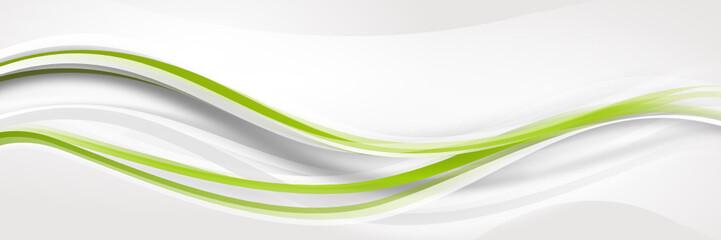 Obraz welle wellen grün Band Streifen Business  - fototapety do salonu