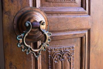 ornate door handle