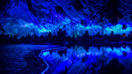 Colorlight in Caves