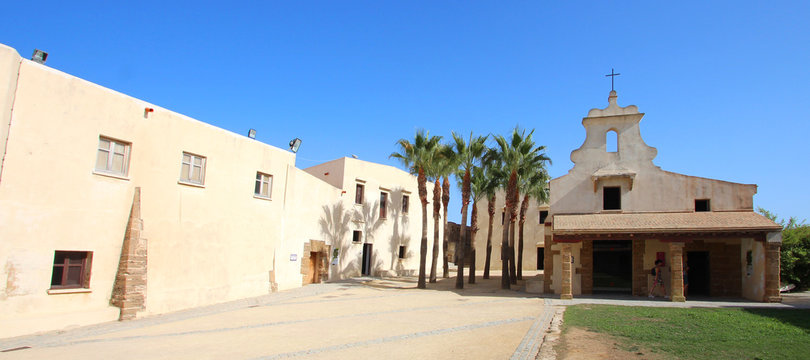 Cadix / Castillo de Santa Catalina - Espagne (Andalousie)