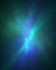 Abstract fractal background for creative design