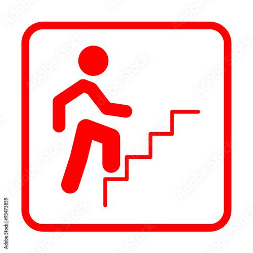 Calzon rojo subiendo escalera - 2 1