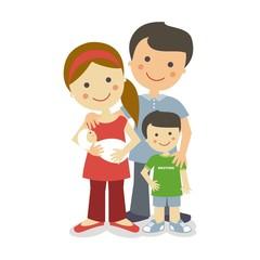 Familia con 2 hijos SF
