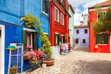 The island of Burano. Italy. Fototapete