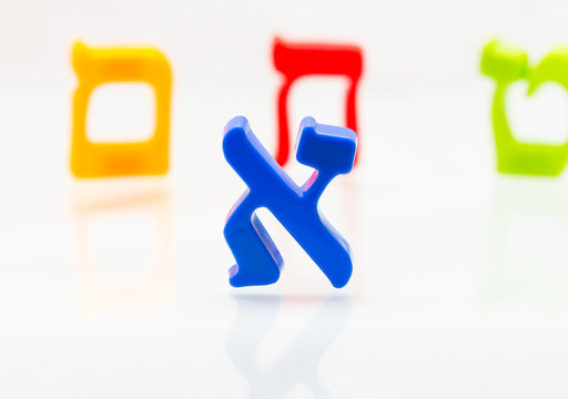 Hebrew letters Alphabet