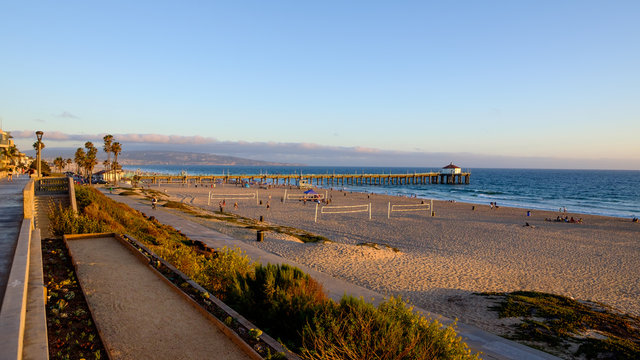 The Strand in Manhattan Beach, California