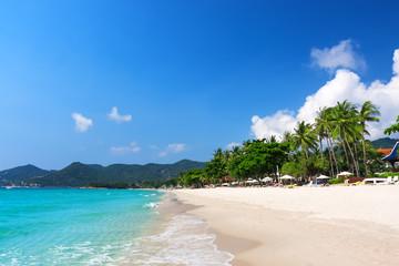 View of Chaweng beach, Koh Samui, Thailand