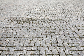 Vintage stone street road pavement texture Wall mural