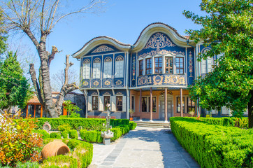 Ethnographic Museum in the town of Plovdiv in Bulgaria Wall mural