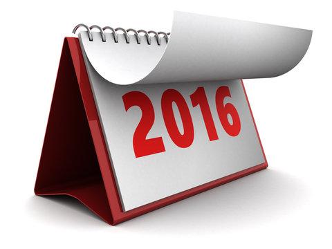 new 2016 year calendar