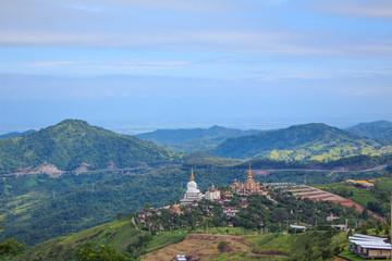 Phasornkaew Temple  at Khao Kho Phetchabun Thailand