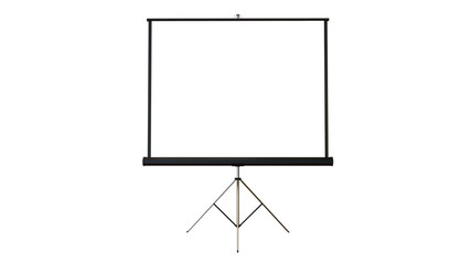 whiteboard flip board paper presentation on white background