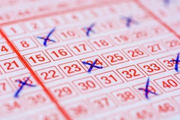 Hoffnung auf Lottogewinn