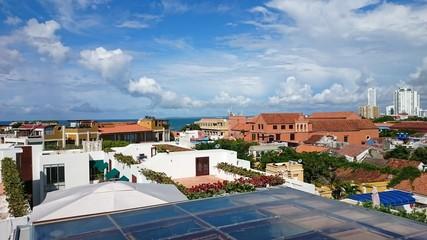 Panorámica Cartagena ciudad antigua