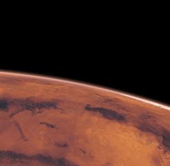 Wall Mural - Mars - Ausschnitt, Oberfläche