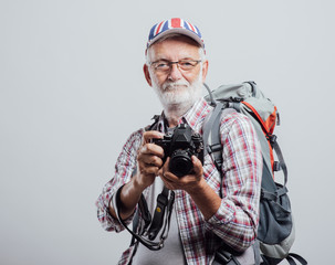 Senior adventurer and photographer