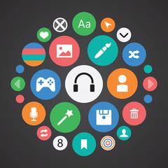 webdesign icons universal set